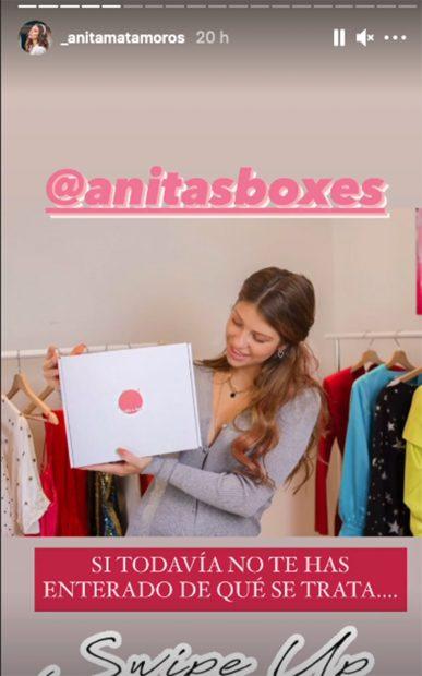 Anita Matamoros lanza su proyecto empresarial./Instagram @_anitamatamoros