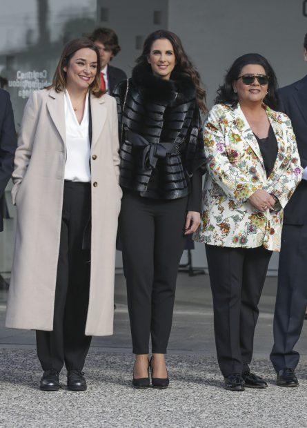 Toñi Moreno, Nuria Fergó y María del Monte en una imagen de archivo./Gtres
