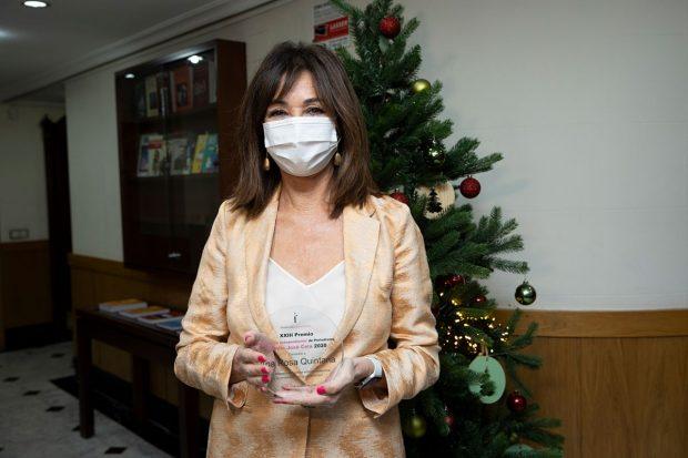 Ana Rosa Quintana recoge el premio Camilo José Cela