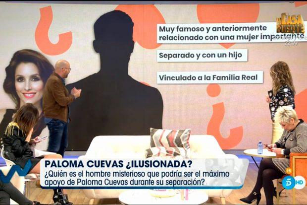 Diego Arrabal ha sido el encargado de dar las pistas necesarias para conocer quién es el nuevo acompañante de Paloma Cuevas/Mediaset