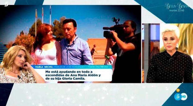 La mujer de Ortega Cano ha negado a Michu/Mediaset