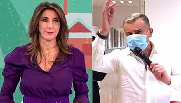 Paz Padilla se enzarza con Jorge Javier Vázquez