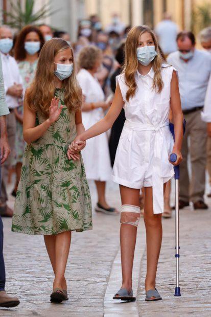 A pesar de sus obligaciones, la Princesa de Asturias lleva también una 'vida normal' como cualquier adolescente de su edad/Gtres
