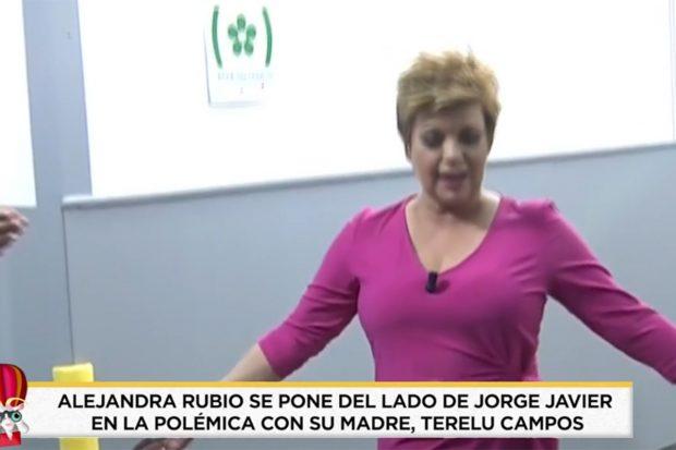Así ha reaccioando Alejandra Rubio ante el ataque de Jorge Javier a su madre