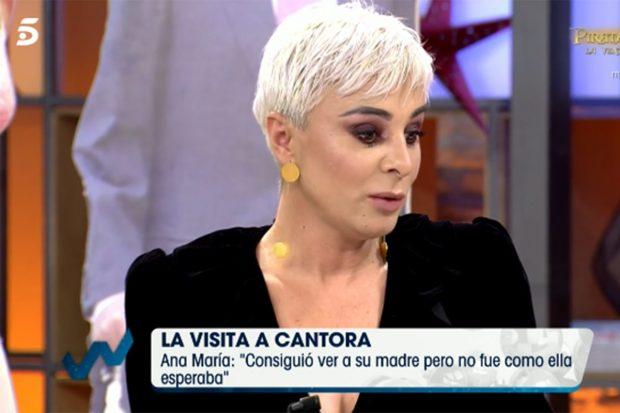 Ana María Aldón revela cómo fue el encuentro entre Isa P y la tonadillera./'Viva la vida'