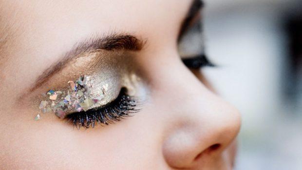 maquillaje de ojos nochevieja
