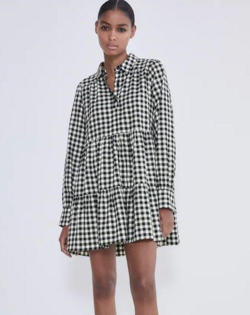 8 vestidos de Zara para pasar la Nochevieja en casa