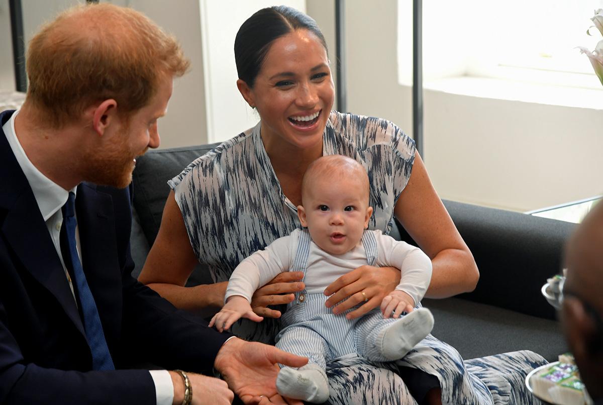 Harry y Meghan junto a su hijo Archie / GTRES