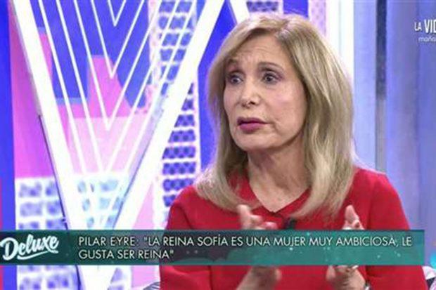 Pilar Eyre en 'Sábado Deluxe'./Telecinco