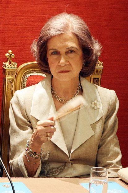 Doña Sofía en una imagen de archivo./Gtres