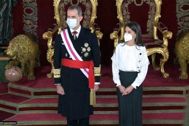 Rey Felipe VI, ReinaLetizia