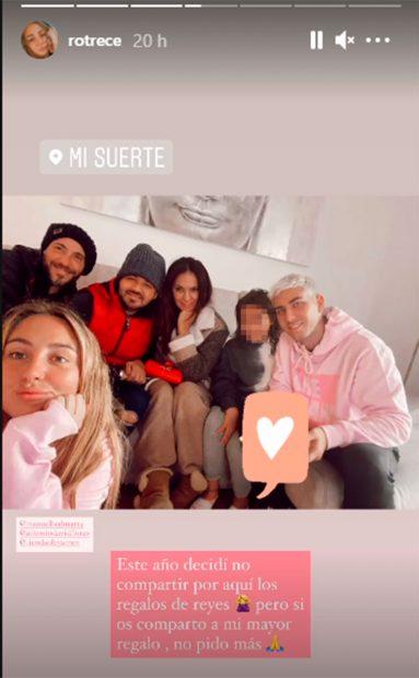 Rocío Flores, Antonio David Flores, Olga Moreno, David Flores, Manuel Bedman