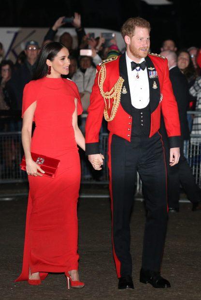 Meghan Markle y el príncipe Harry en una imagen de archivo./Gtres