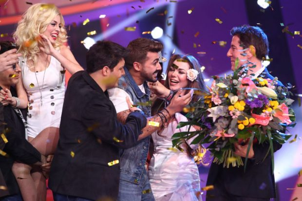 Jorge González, ganador de la octava edición de 'Tu cara me suena'./Antena 3