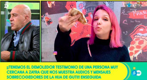 Zayra Gutiérrez, de nuevo noticia por sus palabras y actos / Mediaset