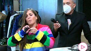 Anabel Pantoja se va del plató / Telecinco