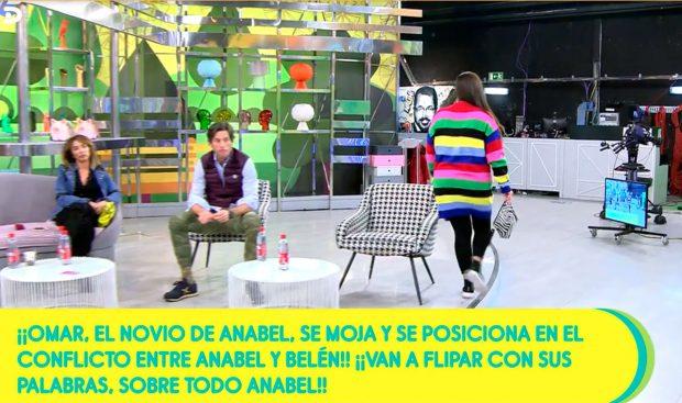 Anabel se marcha de 'Sálvame' / Telecinco