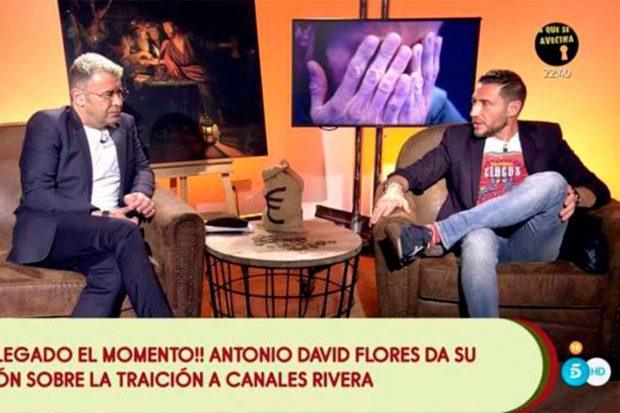 Jorge Javier también se las ha tenido tiesas con Antonio David Flores / Telecinco