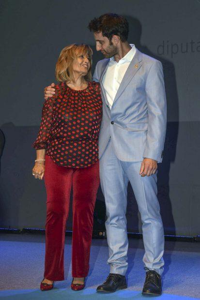 Dani Rovira y María Teresa Campos