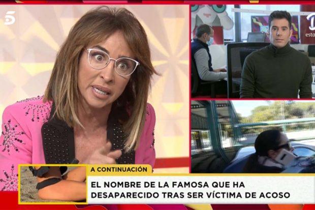 María Patiño ha mostrado su enfado con Anabel Pantoja./'Socialité'