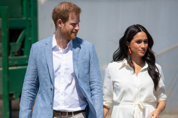 El príncipe Harry y Meghan Marle/Gtres