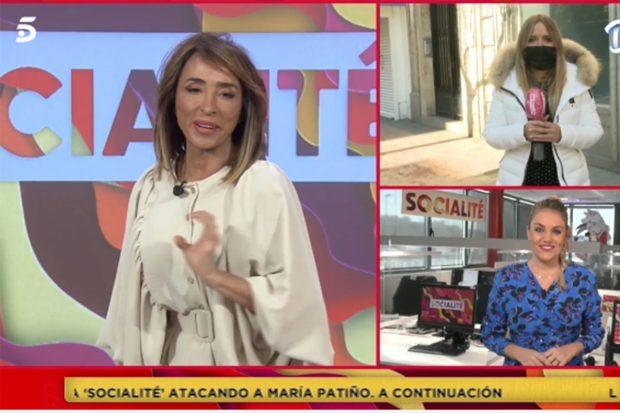 María Patiño en 'Socialité'./'Socialité'