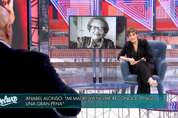 Anabel Alonso en 'Sábado Deluxe'./'Sábado Deluxe'
