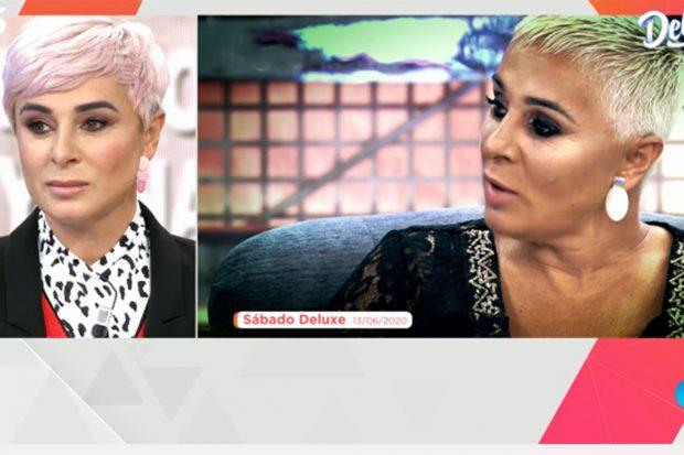 Ana María Aldón luce una melena en color rosa, color tendencia./'Viva la vida'