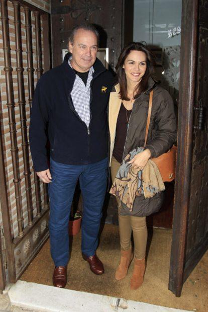 Bertín Osborne y Fabiola Martínez en una imagen de archivo./Gtres