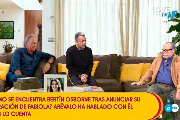 Arévalo ha visitado el plató de 'Sálvame' / Mediaset