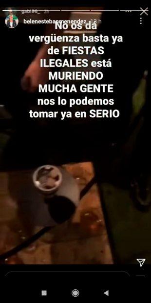 Belén Esteban estalla en sus stories de Instagram / @Belenestebanmenendez
