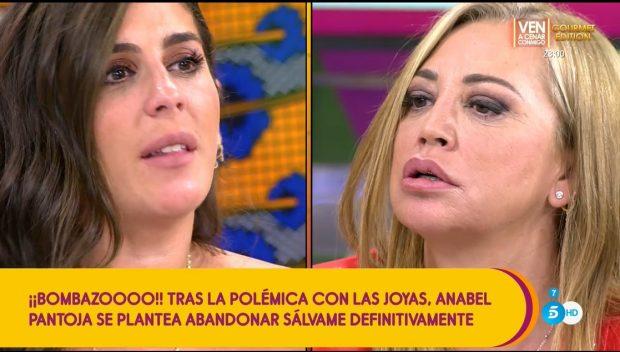 Anabel vs. Belén Esteban / Telecinco