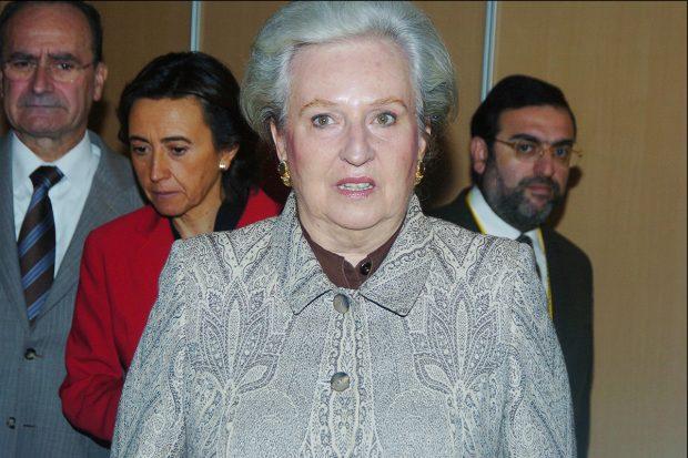 Doña Pilar en una imagen de archivo./Gtres