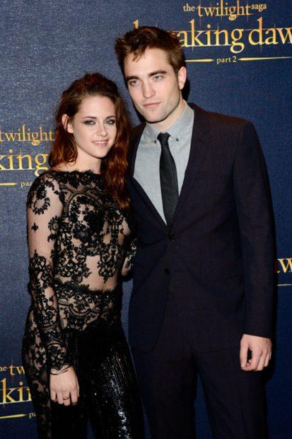 Kristen Stewart y Robert Pattinson en la premiere de 'Amancer parte 2'./Gtres