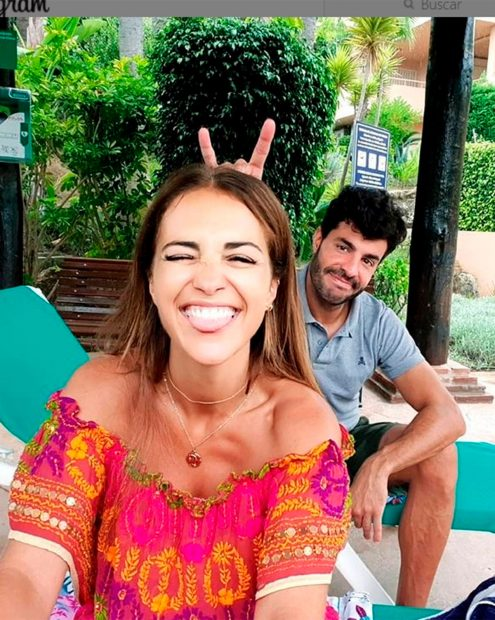 Miguel Torres y Paula Echevarría / Instagram