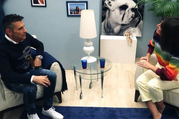 Jesús Vázquez entrevistando a Nagore Robles./Mtmad