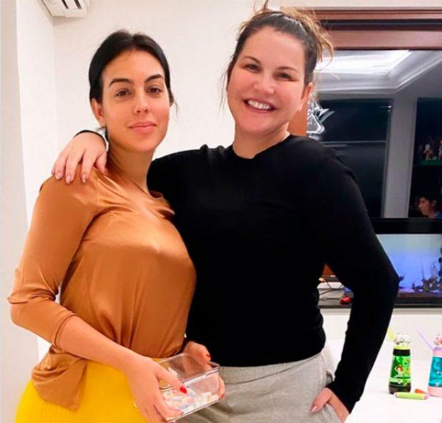 Georgina Rodríguez, Katia Aveiro