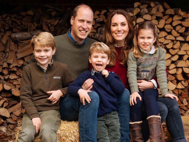 Duques de Cambridge y sus hijos