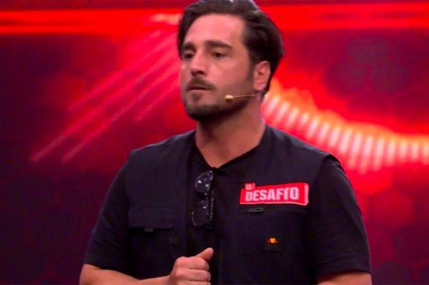 David Bustamante expresa lo que siente tras su prueba en 'El desafío'./Antena 3