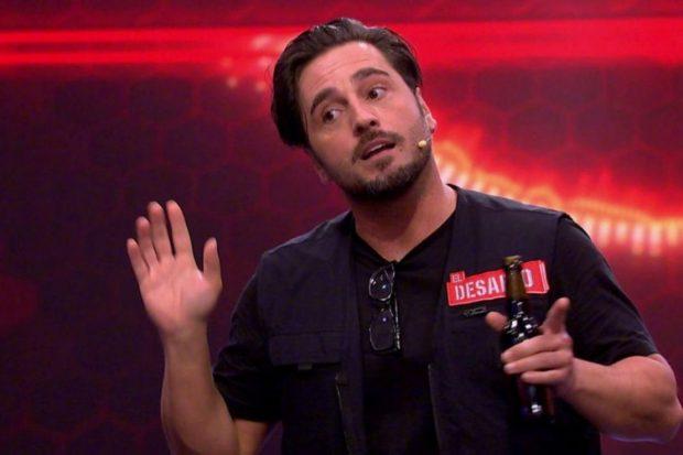 David Bustamante muestra su enfado en 'El desafío'./Antena 3