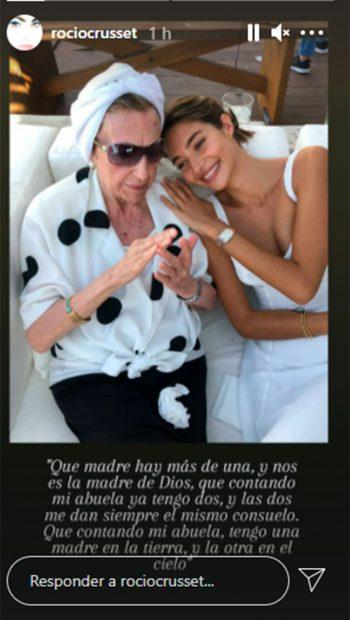 Rocío Crusset, Blanca Crusset