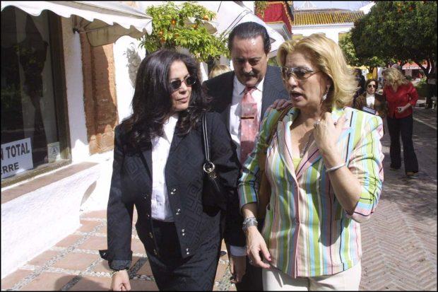 Isabel Pantoja, Julián Muñoz, Maite Zaldívar