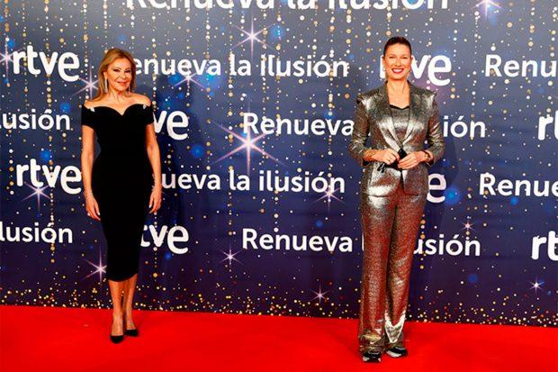 Anne Igartiburu y Ana Obregón
