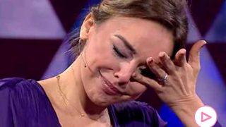 Chenoa llora al hablar del amor de su vida en el programa de Bertín Osborne/Canal Sur
