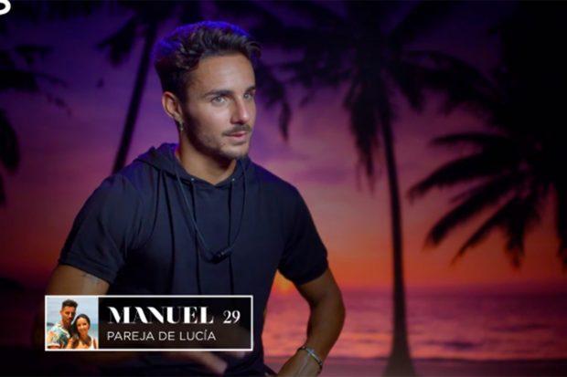 Manuel de 'La isla de las tentaciones'./'La isla de las tentaciones'