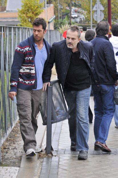 Miguel Bosé y Nacho Palau en una imagen de archivo./Gtres