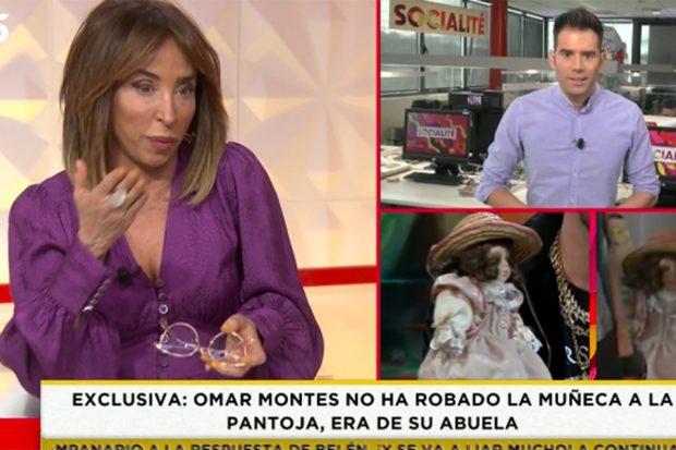 María Patiño presentando 'Socialité'./'Socialité'