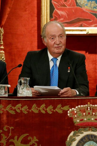 Don Juan Carlos en una imagen de archivo./Gtres