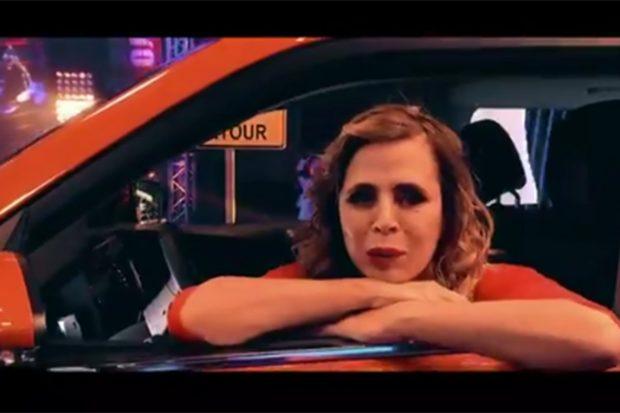 Ágatha Ruiz de la Prada haciendo su reto en 'El desafío'./Antena 3