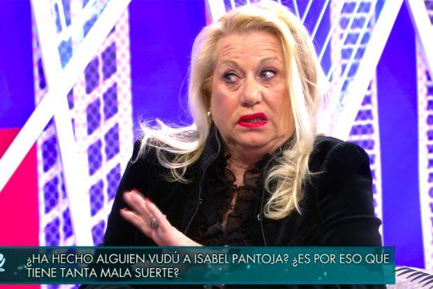 Maite Zaldívar en 'Sábado Deluxe'./Telecinco
